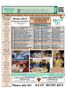 2015 Winter WFL Schedule – Tutoring Parenting Grief Support Program 03-04-15
