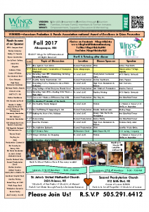 2017 Fall WFL Schedule