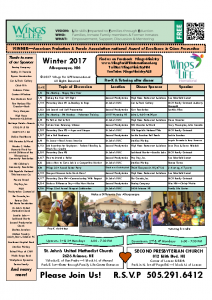 2017 Winter WFL Schedule
