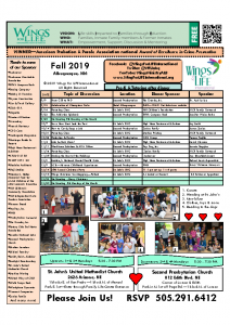 2019 Fall WFL Schedule