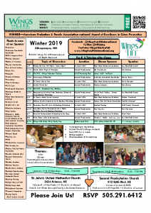2019 Winter WFL Schedule