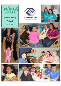 5-12-15 Mother's Day Potluck