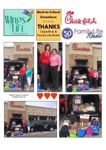 8-13-2016 – Chick-fil-A Back-to-School Donations