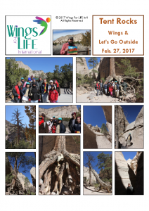 2-27-17 Tent Rocks and Let's Go Outside