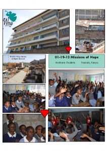 01-19-13 Missions of Hope School – Mathare Students