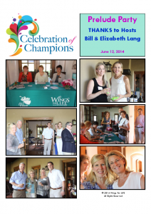6-12-14 Celebration of Champions – Lang's Prelude Party
