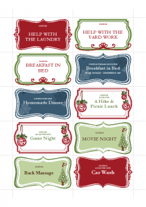 Coupons for Christmas Gifts