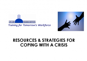 Resources & Strategies for Coping with a Crisis