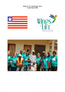 Liberia Wings For LIFE 2020 Annual Report