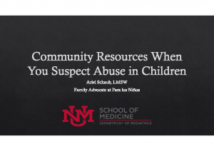 Community Resources When You Suspect Abuse in Children- Wings